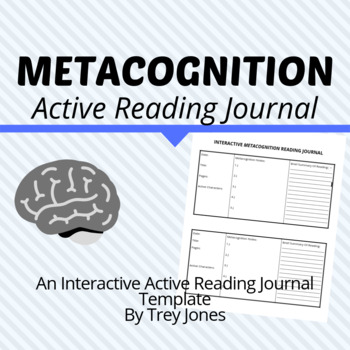 Interactive Metacognition Reading Journal by Learning With
