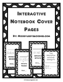 Interactive Notebook Cover Page Language Arts & Worksheets