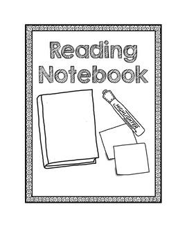 Interactive Notebook Covers ~ FREEBIE! ~ ELA, Reading