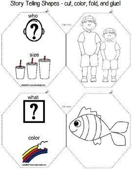 Interactive Notebook Story Telling Shapes for Autism by