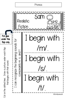 Interactive Notebook, Unit R, 1st Grade Reading Street by