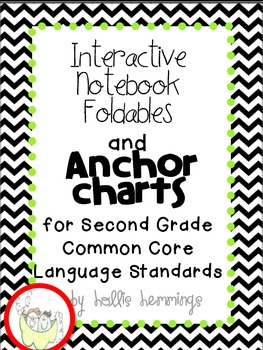 Interactive Notebook and Anchor Charts for Second Grade