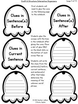 Close Reading Bundle Interactive Notebook 3rd Grade