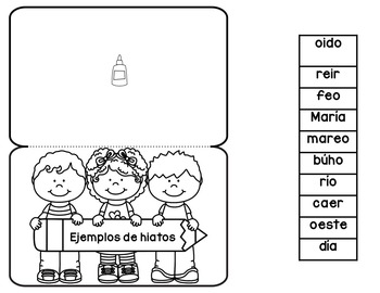 Interactive Phonics Spanish Notebook Perfect for First