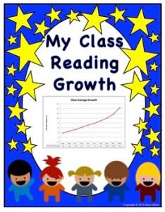 Interactive reading level growth chart also by teachin  sisters tpt rh teacherspayteachers