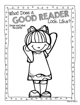 Interactive Reading Response Journal {First Grade} by