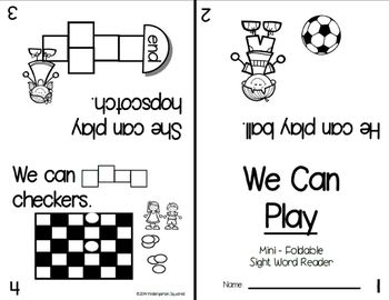 Sight Words: Interactive Flap Books, Readers, & More