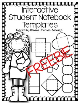 Interactive Student Notebook Templates {FREEBIE