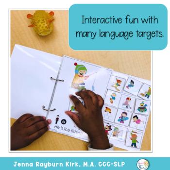 Interactive Vocabulary Books: Winter by Jenna Rayburn Kirk