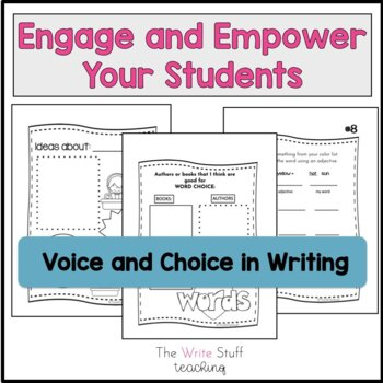 Writer's Notebook Writing for 2nd & 3rd Grade by The Write