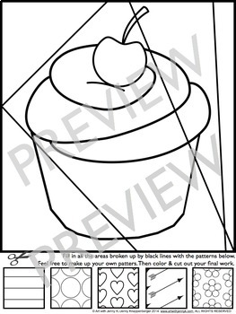 Valentine's Day Interactive Coloring + Writing by Art with