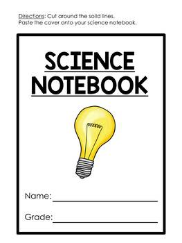 Interactive science notebook covers {FREEBIE} by Satsumas