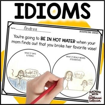 Interpreting Idioms! A Figurative Language Activity for