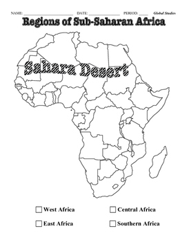 Introduction to sub-Saharan Africa by The Creative Cabinet