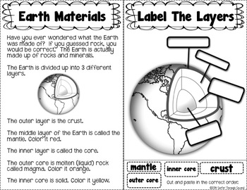 Investigating Rocks and Minerals-An Interactive Notebook