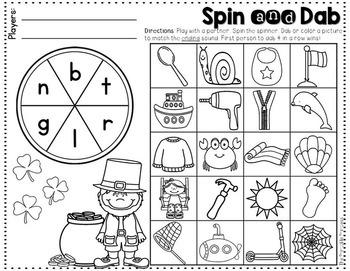 It's All Fun & Games {March Activities for Kindergarten