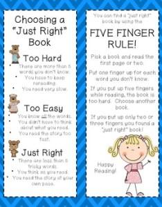 It   just right reader workshop bookmarks also by jennifer wiggins rh teacherspayteachers