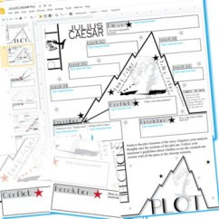 Plot Diagram Answers Fiero Wiring Julius Caesar Chart Organizer Arc Freytag Created For Digital