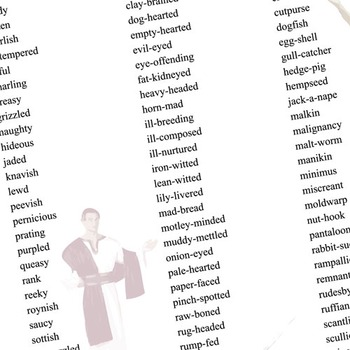 JULIUS CAESAR Shakespearean Insults by Created for