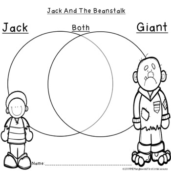 Jack And The Beanstalk Printables by First Little Lessons