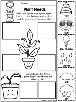 Jack and the Beanstalk No Prep Fairy Tale Activities by
