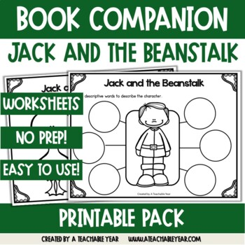 Jack and the Beanstalk- Book Companion by A Teachable Year