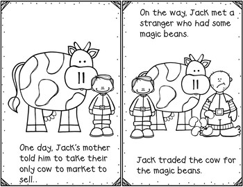 Jack and the Beanstalk (Retelling Cards and Pocket Chart