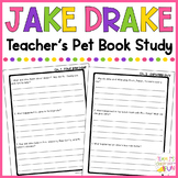 Jake Drake Teacher's Pet - Book Study
