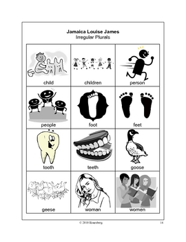 Jamaica Louise James Activities and Test Practice by Mary
