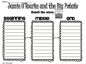 Jamie O'Rourke and the Big Potato- St. Patrick's Day by