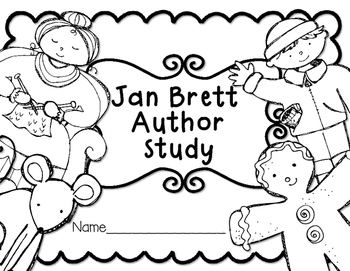 Jan Brett Author Study Reading Response Journal for K-2 by