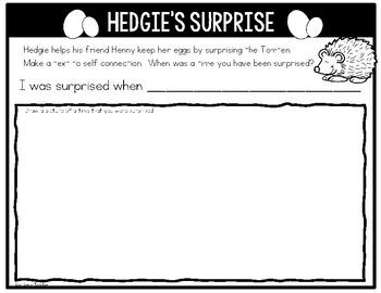 Jan Brett Author Study Reading Response Journal for K-2 by
