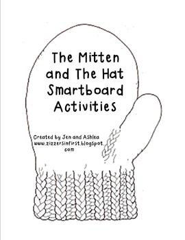 Jan Brett- The Hat and The Mitten Smartboard Activities by