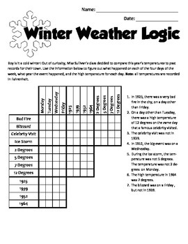 January Holiday Brain Teasers and Puzzles- Martin Luther