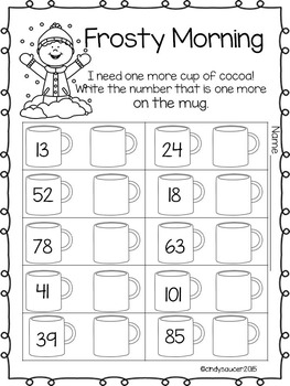January Printables for Math, Phonics, Writing, Vocabulary