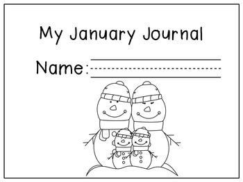 January Writing Activities / January Writing Journal by
