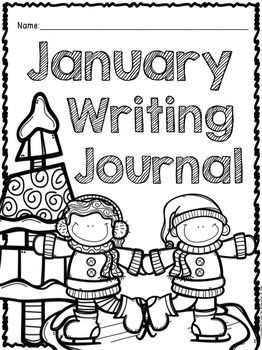 January Writing Prompts & Center- Common Core Aligned by