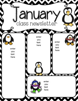 January newsletter freebie by Simply Delightful in Second
