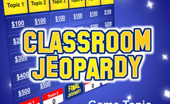 Jeopardy Powerpoint Template Plays Just Like Jeopardy Tpt