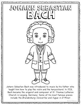 Johann Sebastian Bach, Famous Composer Informational Text