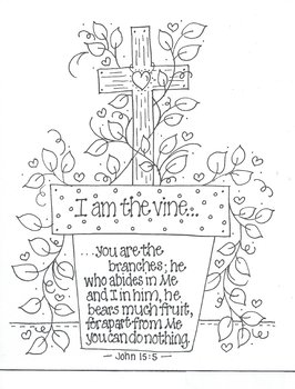 John 15:5 I AM THE VINE, You are the Branches by Bunky