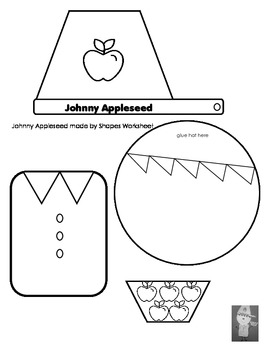 Johnny Appleseed Activities Cross-Curriculum Lesson by