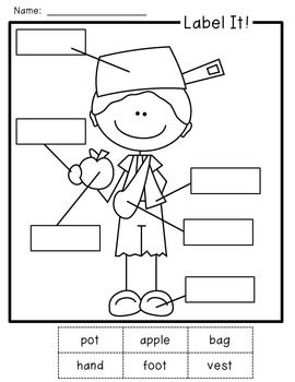 Johnny Appleseed Craft and Writing Activities by Every