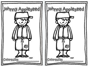 Johnny Appleseed Pocket Chart Poem Set with Printable