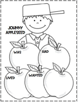 Johnny Appleseed and Apples...Activities/Crafts by First