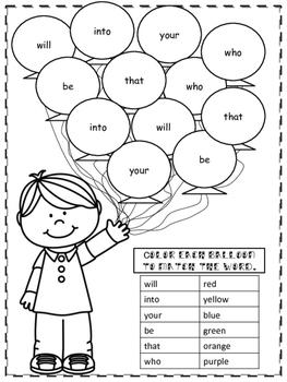Journey's Kindergarten Unit 4 Lesson 18 Supplemental