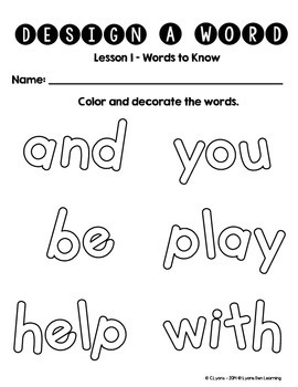 Journey's 1st Grade Word Work Practice and Center