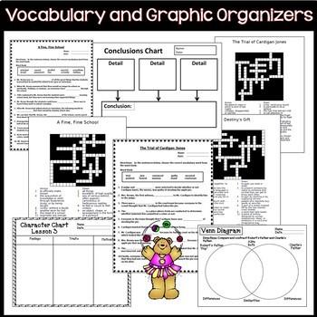 Journeys 3rd Grade Units 1-6 Full Year Bundle Supplemental
