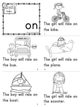 Journeys ~ Common Core ~ Sight Word Readers ~ Unit 4 by