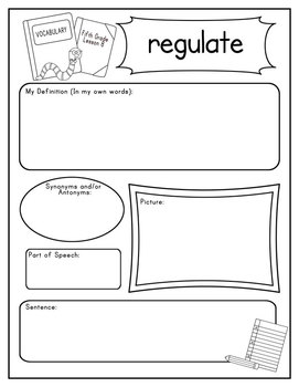 Journeys Fifth Grade Vocabulary Journal Pages Unit 2